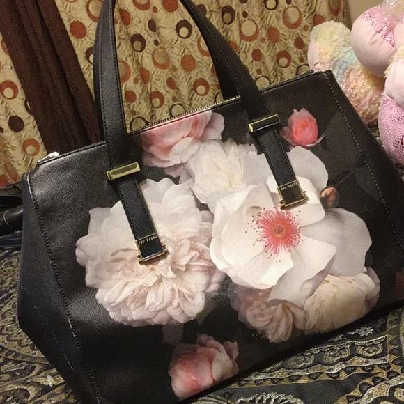 Ted Baker London Handbags - Ted Baker Flower Satchel
